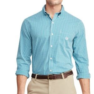 Chaps Classic Fit Easy Stretch Shirt, XXL, New
